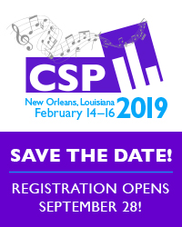 CSP 2019 advert