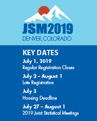 JSM 2019 key dates ad