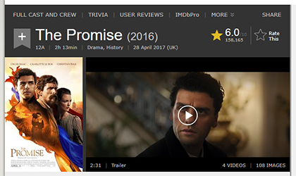The Promise on IMDb